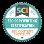 SEO Content Institute認定バッジ