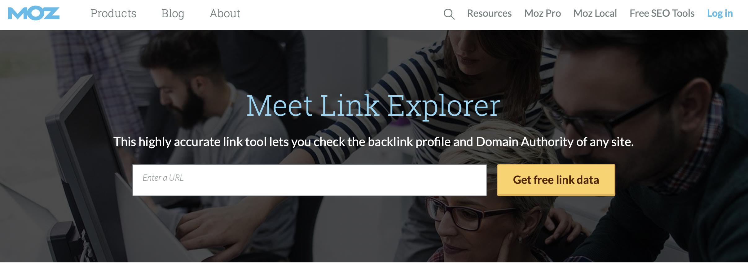 Mom.comのLink Explorer